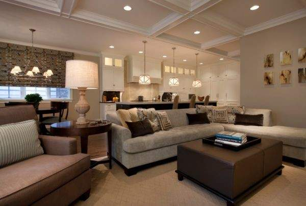 Living Room Dining Combo Color Schemes Home