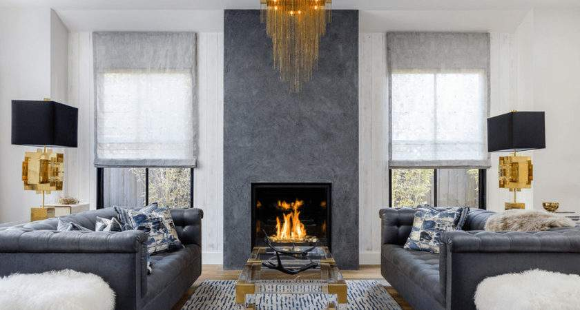 Living Room Fireplace Spectacular Beautiful Rooms