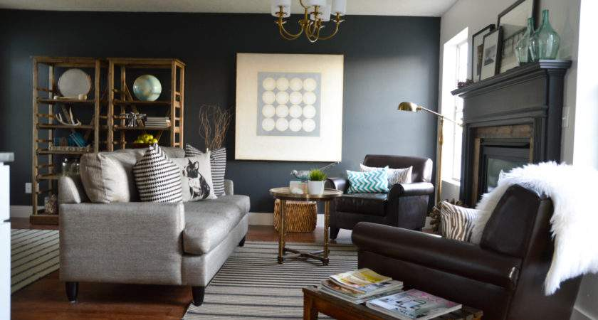 Living Room Makeover Vintage Revivals Interior