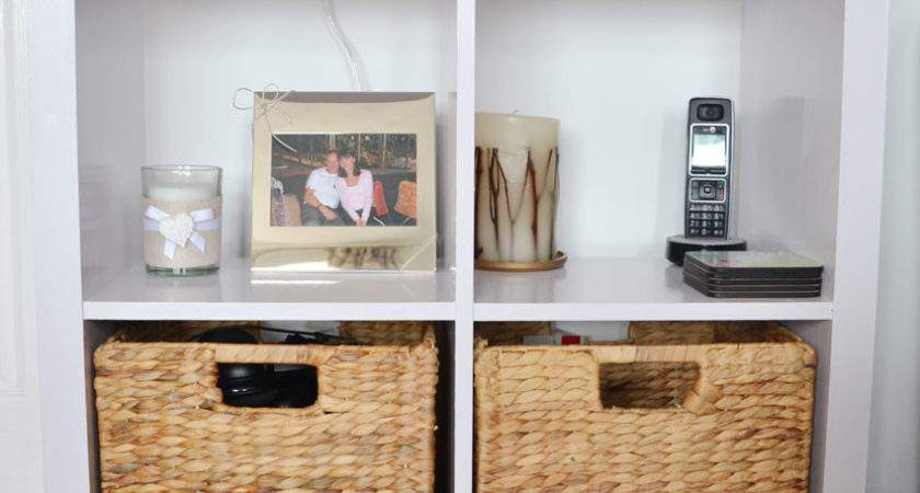 Living Room Storage Unit Makeover Luxestyle
