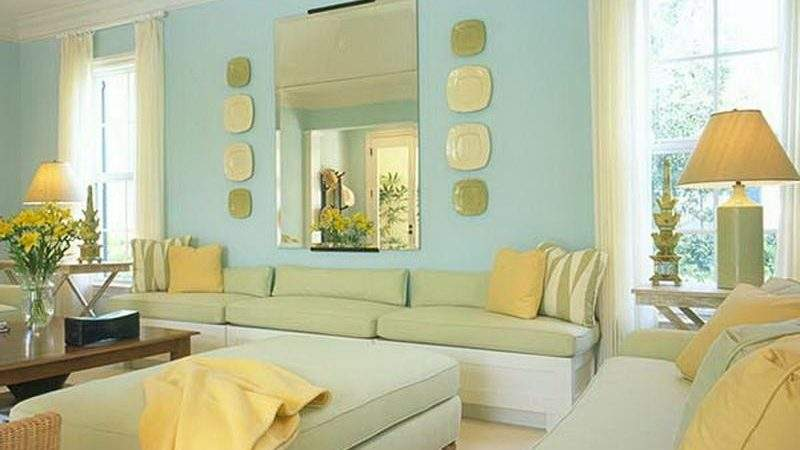 Living Room Suitable Colors Painting