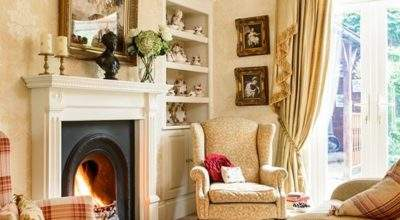 Living Room Take Tour Around Detached Edwardian Home
