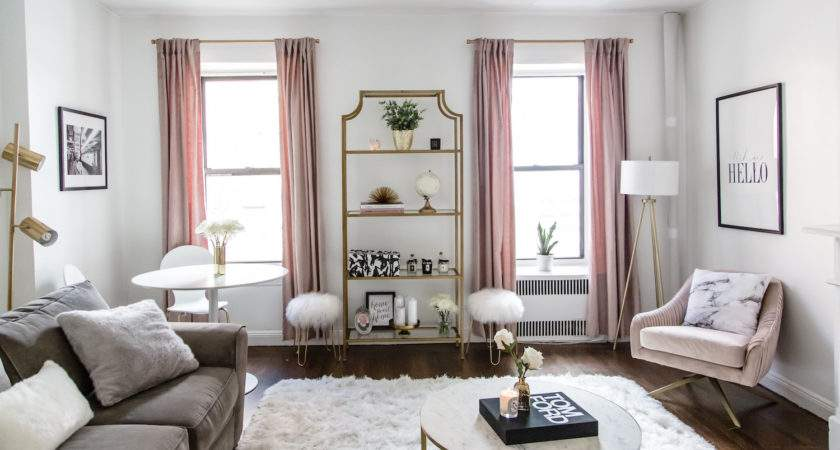 Living Room Tour Transformation Nyc