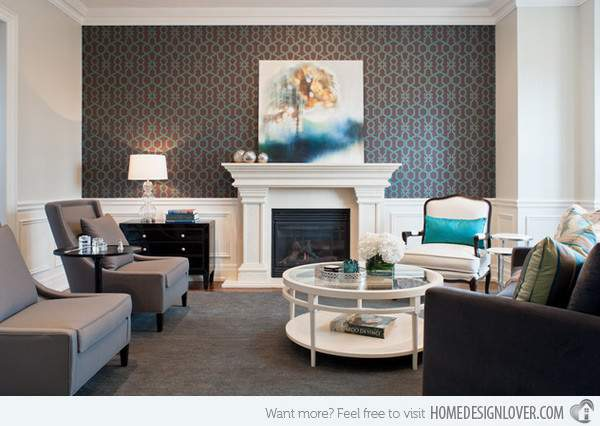 Living Rooms Printed Home Design Lover