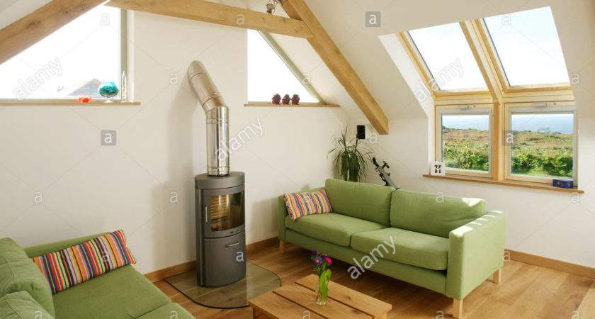 Loft Conversion Sitting Room Skylight Windows