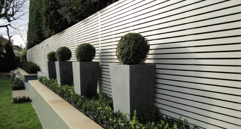 London Garden Fencing Harrington Porter Landscape