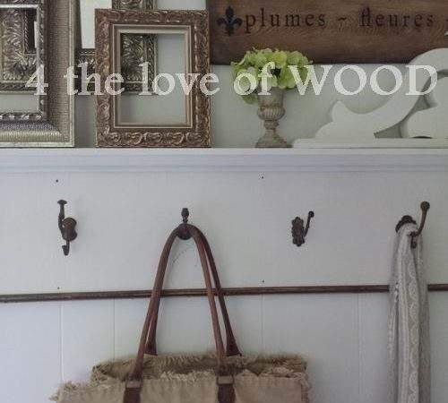Love Wood Antique Wall Hooks Our Bedroom