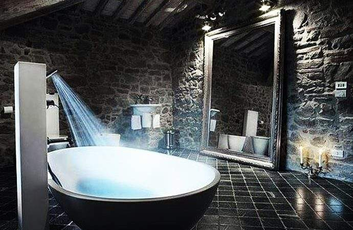 Lovely Bathroom Some Rustic Decor Inspiration