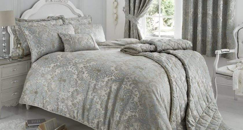 Luxury Jacquard Oriental Bedding Double Duvet Quilt Cover
