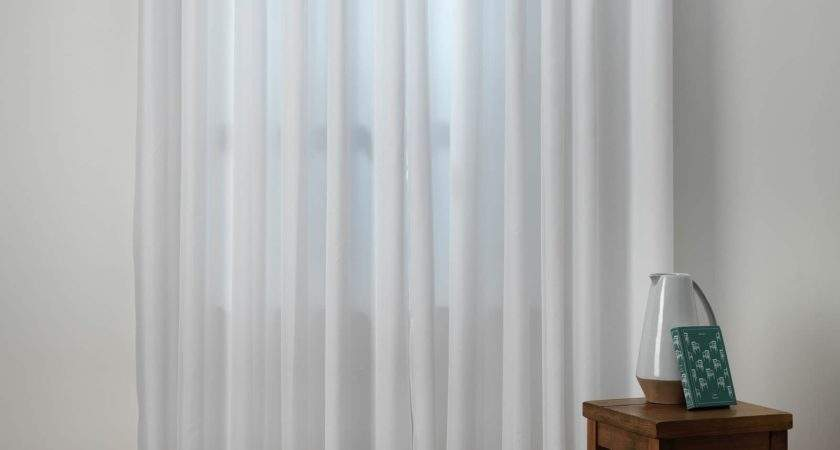 Luxury White Lined Voile Curtains Curtain Menzilperde