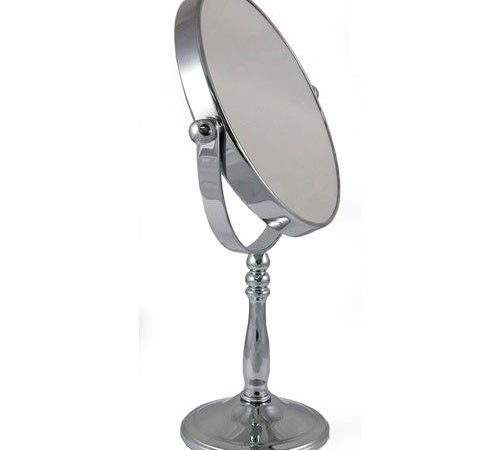 Magnification Round Chrome Standing Bedroom