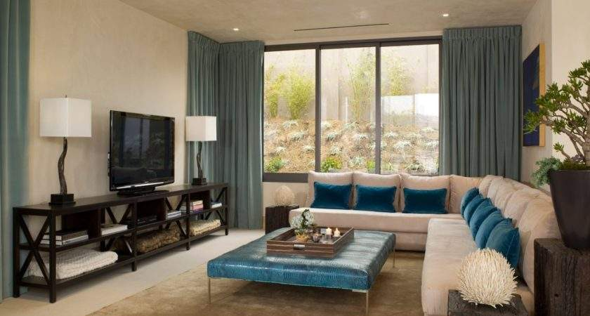 Magnificent Teal Window Treatments Decorating Ideas