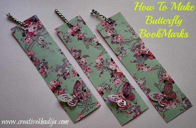 Make Bookmarks Butterfly Paper Punch