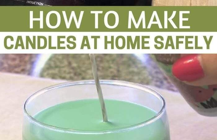Make Candles Home Safely