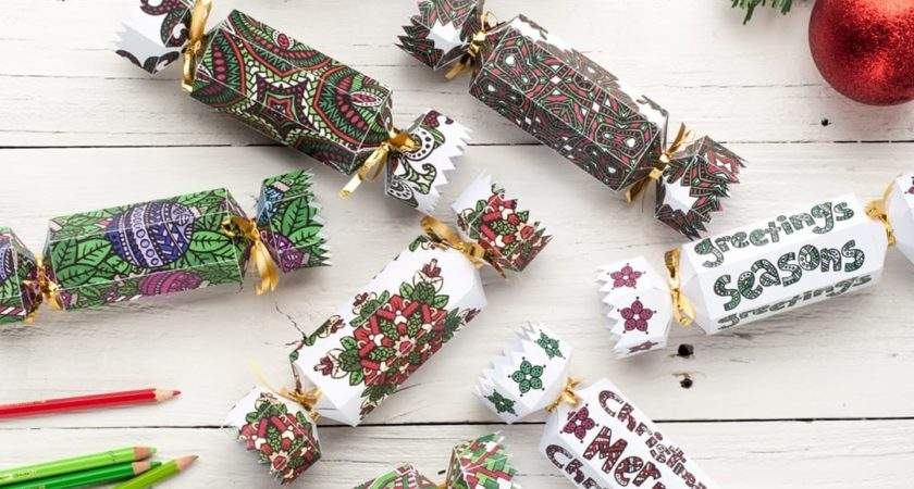 Make Christmas Cracker Printable Template
