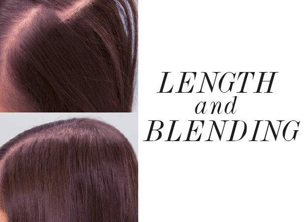 Make Hair Extensions Blend Your