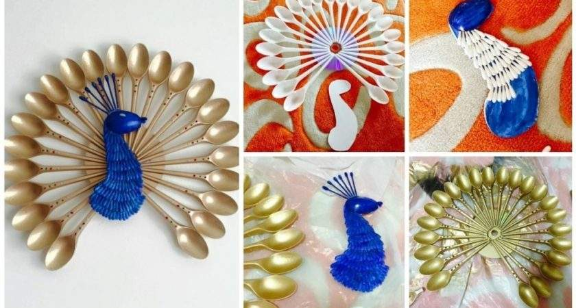 Make Peacock Wall Hanging Easy Craft Ideas