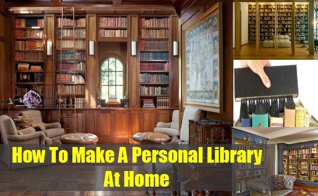 Make Personal Library Home Tips Taking
