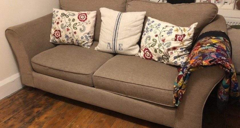 Marks Spencer Brown Sofa Bed Hove East Sussex