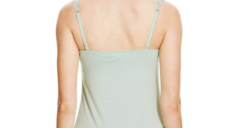 Marks Spencer Vest Tank Cami Top Secret Support