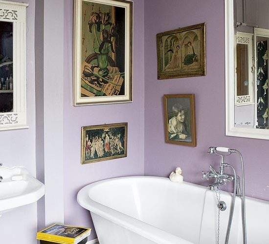Mauve Bathroom Bathrooms Design Ideas