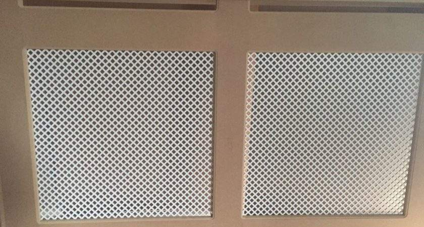 Mdf Radiator Cover Cabinet Diamond Grille Design Made