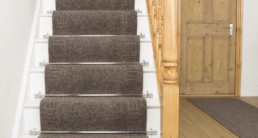 Mega Brown Stair Carpet Runner