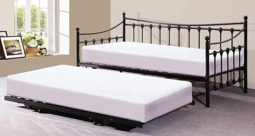 Memphis Single French Style Design Bedstead Pullout