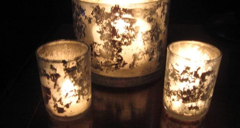 Mercury Glass Votives Diy Two Delighted