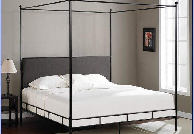 Metal Four Poster Bed Home Design Ideas