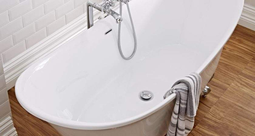 Milano Contemporary Double Ended Freestanding Bath