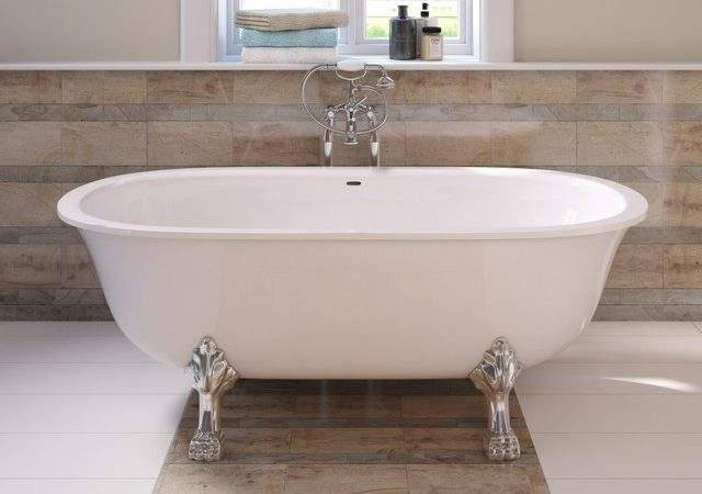 Milano Freestanding Double Ended Roll Top Bath