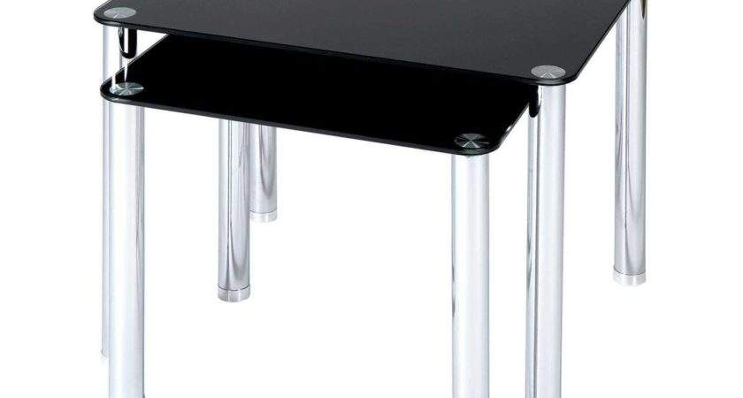Milano Glass Side Tables