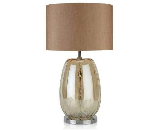 Mink Glass Table Lamp Next Cosy Home Accessories