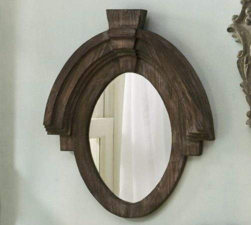 Mirror Rondeau Eclectic Wall Mirrors Through