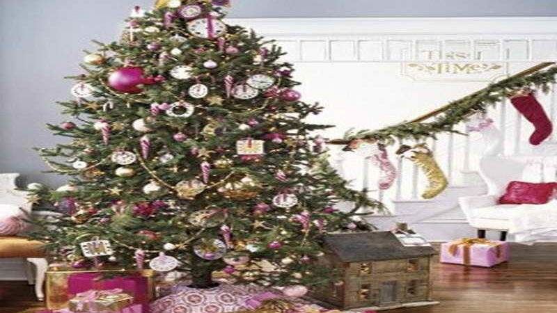 Miscellaneous Country Living Christmas Trees Gold
