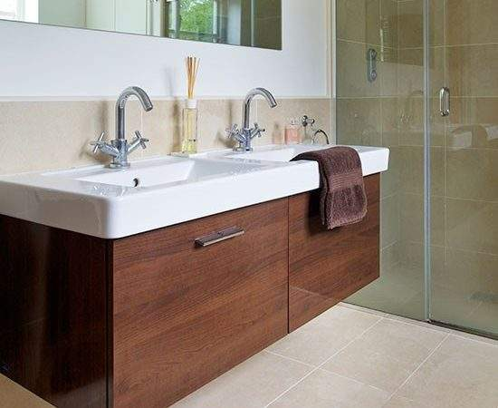 Modern Bathroom Vanity Unit Decorating