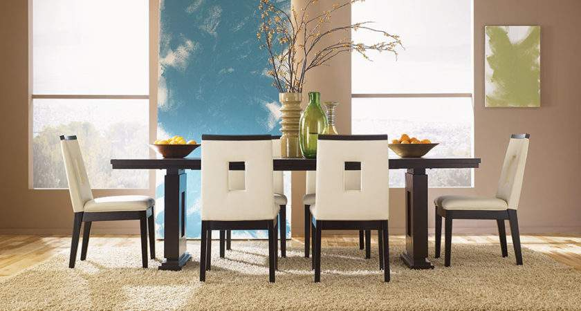 Modern Furniture Asian Contemporary Dining Room