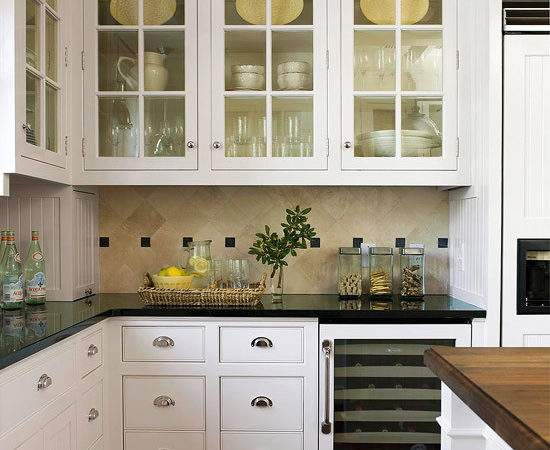 Modern Furniture White Kitchen Cabinets Decorating