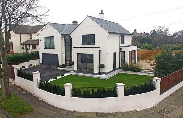 Modern House Remodelling Exterior Manchester