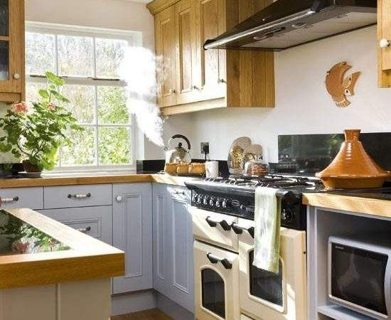 Modern Kitchen Cabinets Small Spaces Wellbx
