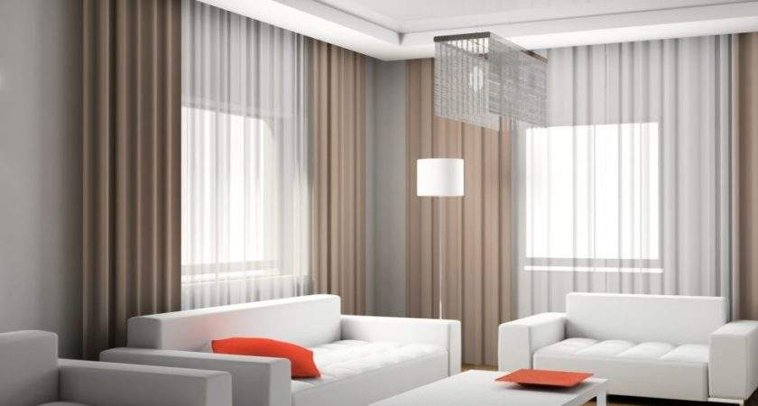Modern Living Room Curtains Design Ideas Covering