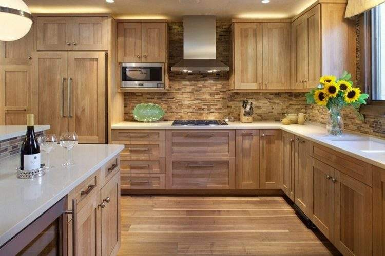 Modern Oak Kitchen Outstanding Examples Enjoy Ideas