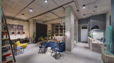 Modern Office Space Looks Like Urban Loft