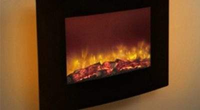 Modern Quattro Wall Mounted Electric Fire