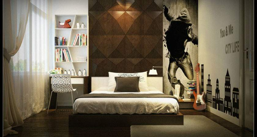 Modern Room Designs Rendering Yim Lee Boys Bedroom