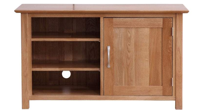 Modern Solid Oak Small Unit Next Day Delivery