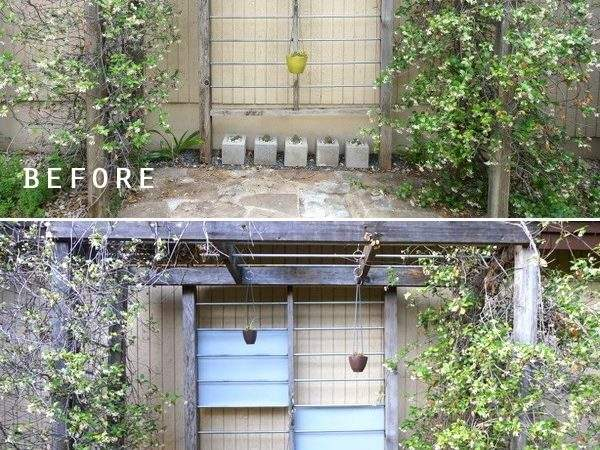 Modern Trellis Diy Project Idea Design Makeover