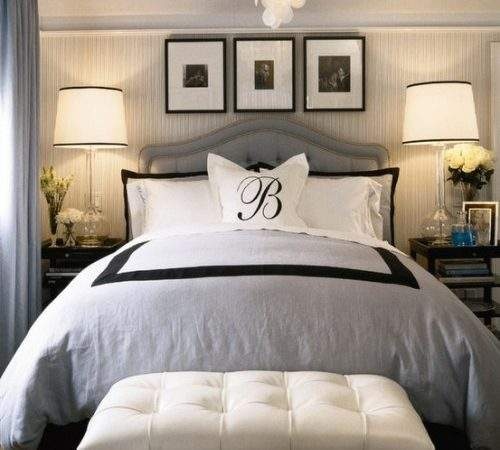 Modern Vintage Glamorous Bedrooms Interior Decorating