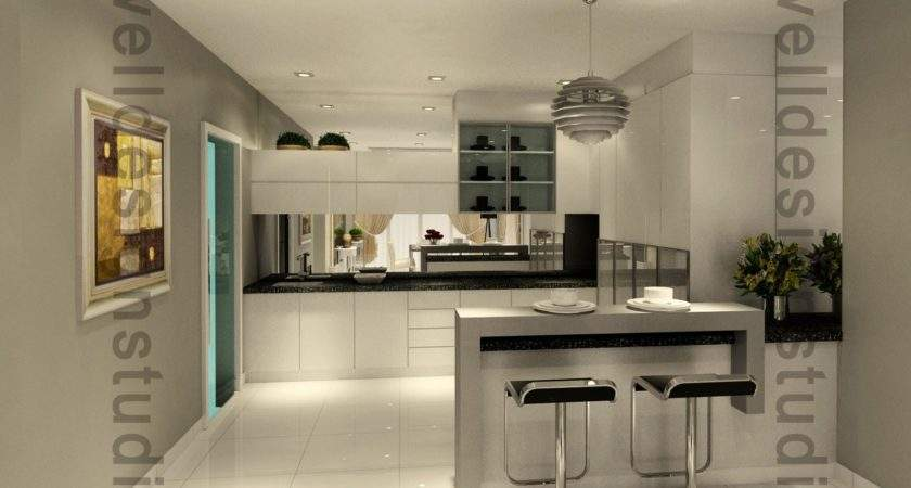 Modern Wet Kitchen Design Ideas